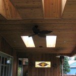 deck roof skylight
